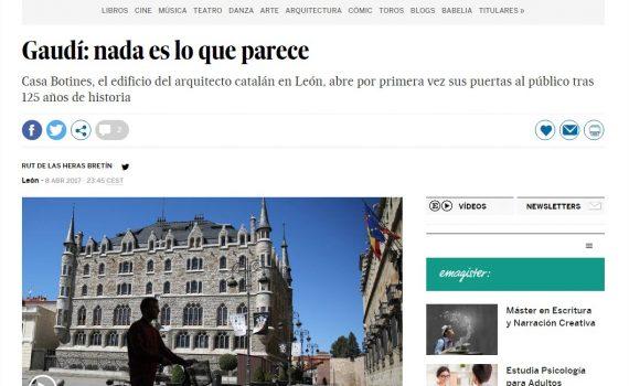El País se pasea por la Casa Botines