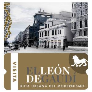 visita el león de Gaudí