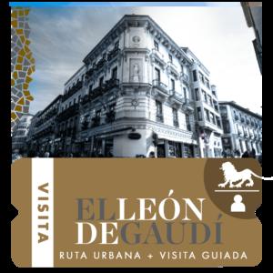 Visita ruta + museo el león de gaudí